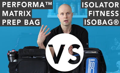 Isolator Fitness 3 Meal ISOBAG® VS PERFORMA™ MATRIX: Meal Management Bag Comparison