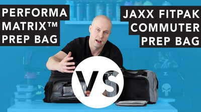 Bag Comparison: PERFORMA™ MATRIX MEAL PREP BAG VS. JAXX FITPAK COMMUTER