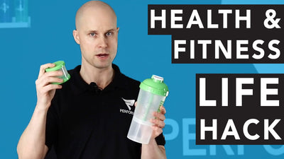 Health & Fitness Life Hack: Multipurpose Protein Shaker