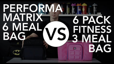 PERFORMA Matrix 6 Meal Prep Bag vs. 6 Pack Innovator 300 3 Meal Prep Bag