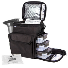 3 Meal Cooler Bag, open view, Performa USA