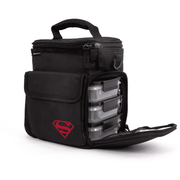 3 Meal Cooler Bag, Container Compartment Open, Superman, Performa USA