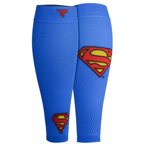 Calf Sleeves, 1 Pair, Superman - PERFORMA™ USA