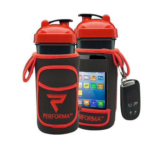 FitGo, Red on Black - PERFORMA™ USA