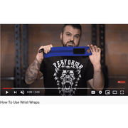 Wrist Wraps, 1 Pair, Steve Austin - PERFORMA™ USA