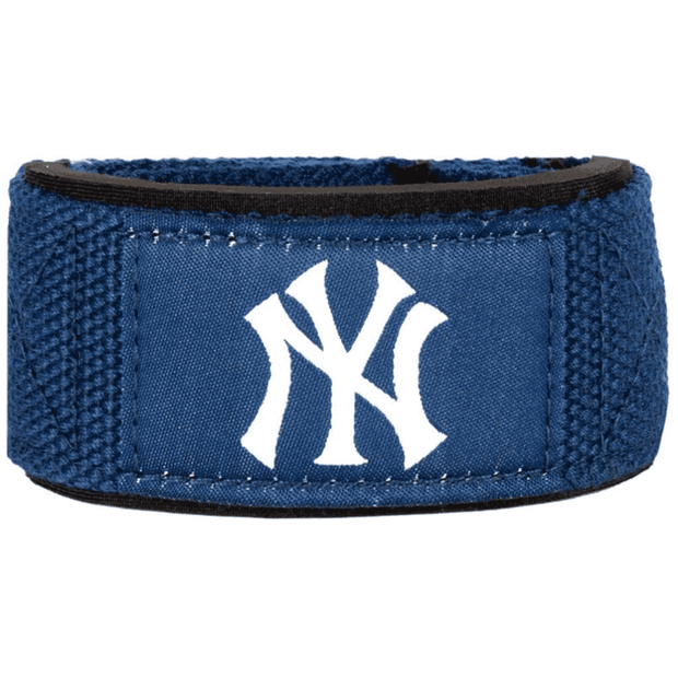 Padded Lifting Straps, 1 Pair, NY Yankees - PERFORMA™ USA