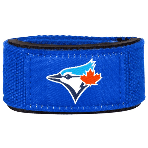 Padded Lifting Straps, 1 Pair, Toronto Blue Jays - PERFORMA™ USA
