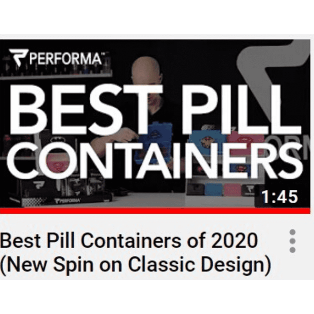 Chest Pill Container, Superman - PERFORMA™ USA
