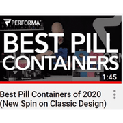 Daily Pill Container, Purple - PERFORMA™ USA