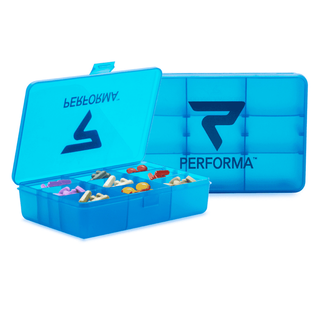 Chest Pill Container, Blue Raspberry - PERFORMA™ USA