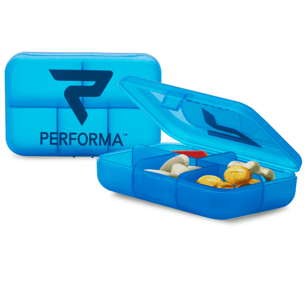 Daily Pill Container, Blue Raspberry - PERFORMA™ USA