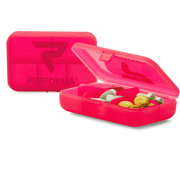 Daily Pill Container, Raspberry - PERFORMA™ USA