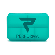 Daily Pill Container, Turquoise - PERFORMA™ USA