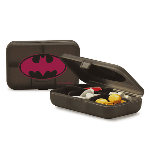 Daily Pill Container, Pink Batman - PERFORMA™ USA
