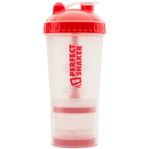 PLUS Shaker Cup, 24oz, Red on Clear - PERFORMA™ USA