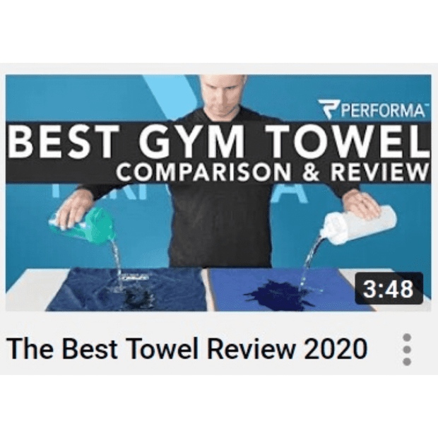 Performance Towel, Blue - PERFORMA™ USA