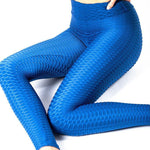 Legging Anti-Cellulite Push Up<br> Bleu Foncé - FitnessBoutique.co