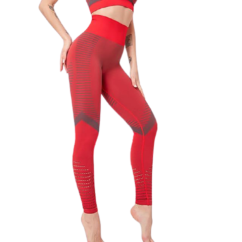 Legging Push Up<br> Rouge - FitnessBoutique.co