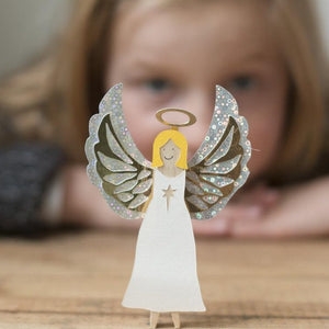 Make Your Own Angel Peg Doll