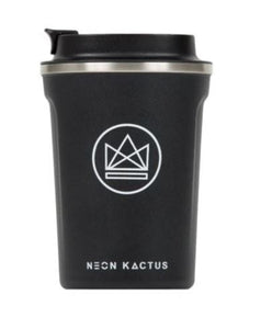 Insulated Coffee Cup - Black - 380 ml