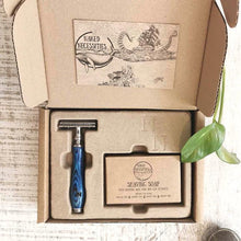 Load image into Gallery viewer, Naked Shave Razor Kit - Blue Ocean