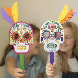 Make Your Own Day Of The Dead Mask