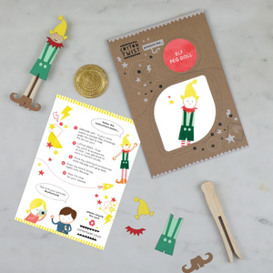 Make Your Own Elf Peg Doll
