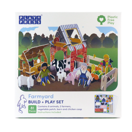 Farmyard - 3D Building Playset