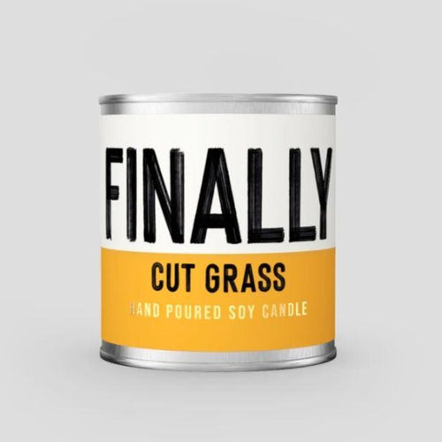 Finally Cut Grass - Cut Grass Scented Soy Candle