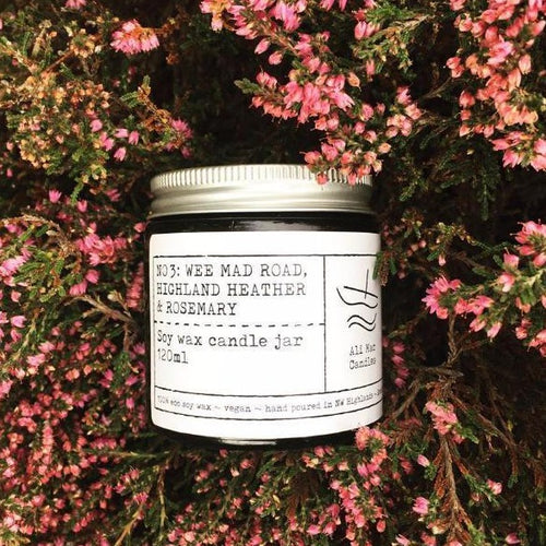 Highland Heather & Rosemary - Luxury Soy Candle 120ml