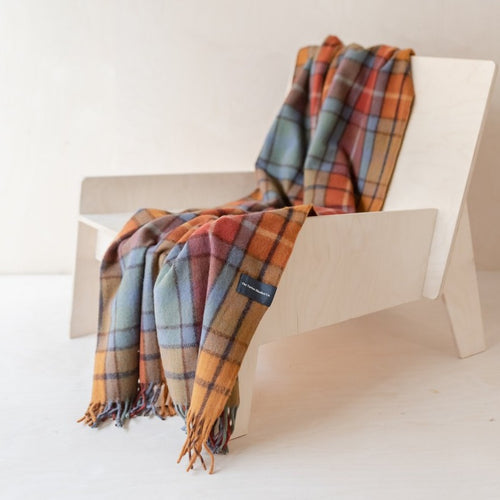 Recycled Wool Knee Blanket - Buchanan Antique Tartan