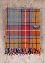 Load image into Gallery viewer, Recycled Wool Knee Blanket - Buchanan Antique Tartan