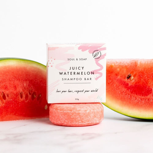 Juicy Watermelon Shampoo Bar