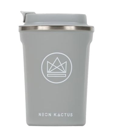 Insulated Coffee Cup - Grey - 380 ml