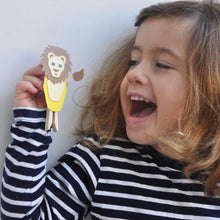 Load image into Gallery viewer, Make Your Own Lion Peg Doll