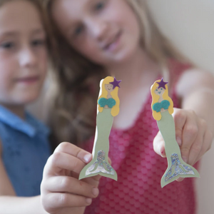 Make Your Own Mermaid Peg Doll
