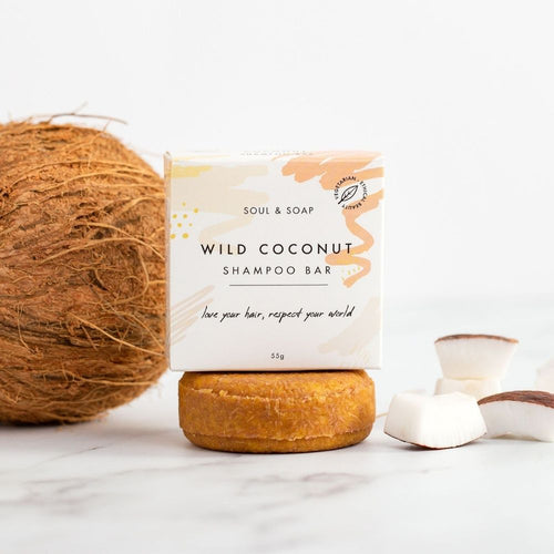 Wild Coconut Shampoo Bar