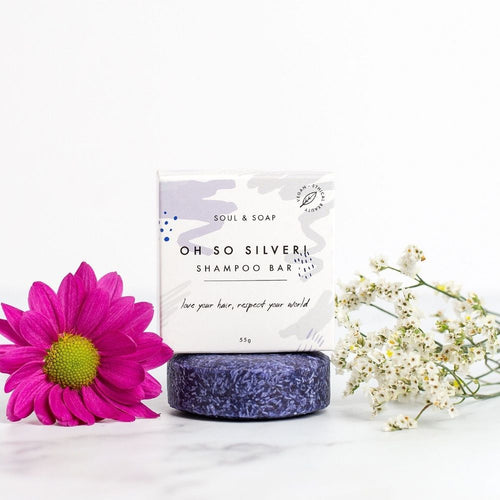 Oh So Silver Shampoo Bar - Vegan