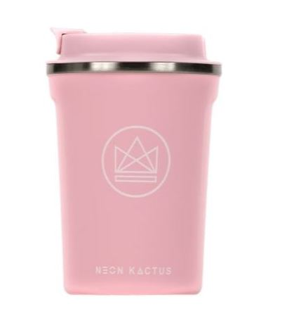 Insulated Coffee Cup - Pink - 380 ml