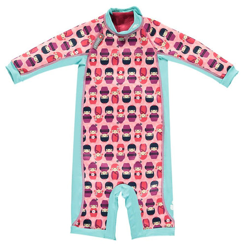 Toddler Snug Suit - Kokeshi Doll - 12-18 Months
