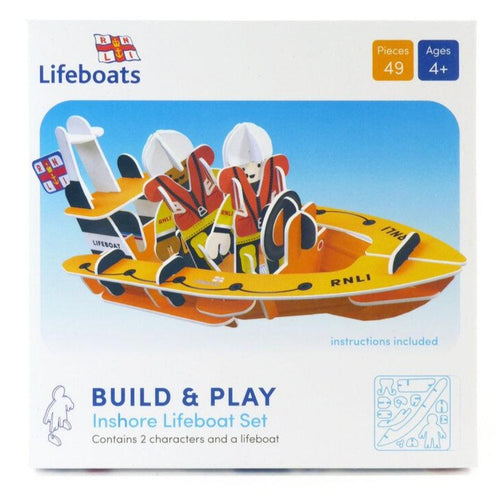 RNLI Lifeboat - 3D Building Playset