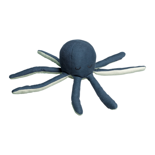 Octopus Rattle - Blue Spruce