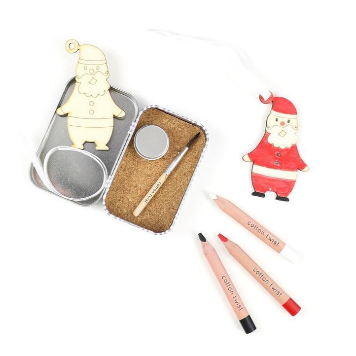 Make Your Own Father Christmas Decoration