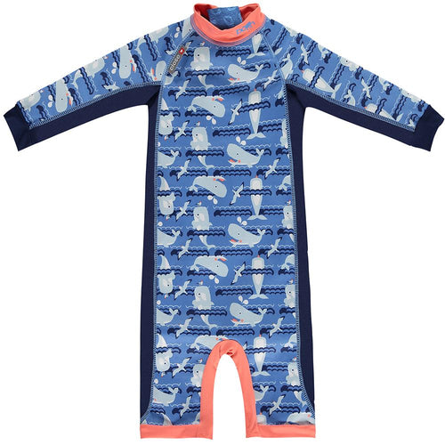 Toddler Snug Suit - Endangered Ocean Print - 18-24 Months
