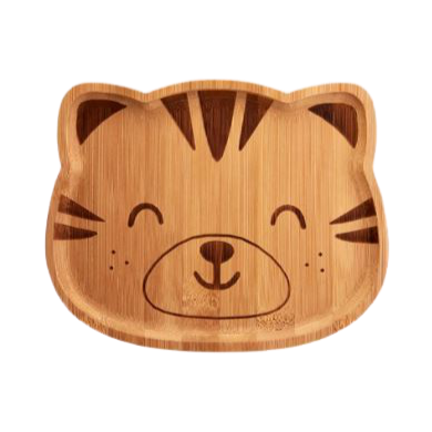 Bamboo Plate - Tiger