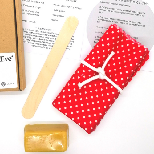 DIY Wax Food Wrap Kit