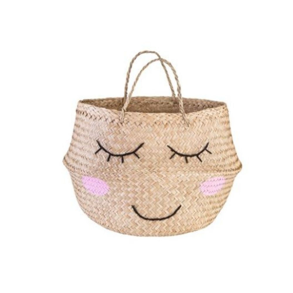 Sweet Dreams Seagrass Basket