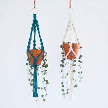 Load image into Gallery viewer, DIY Macramé Plant Hanger & Pot