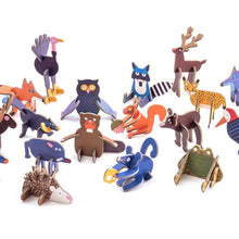 Load image into Gallery viewer, Chocolate + Toy Box - Woodland Animals