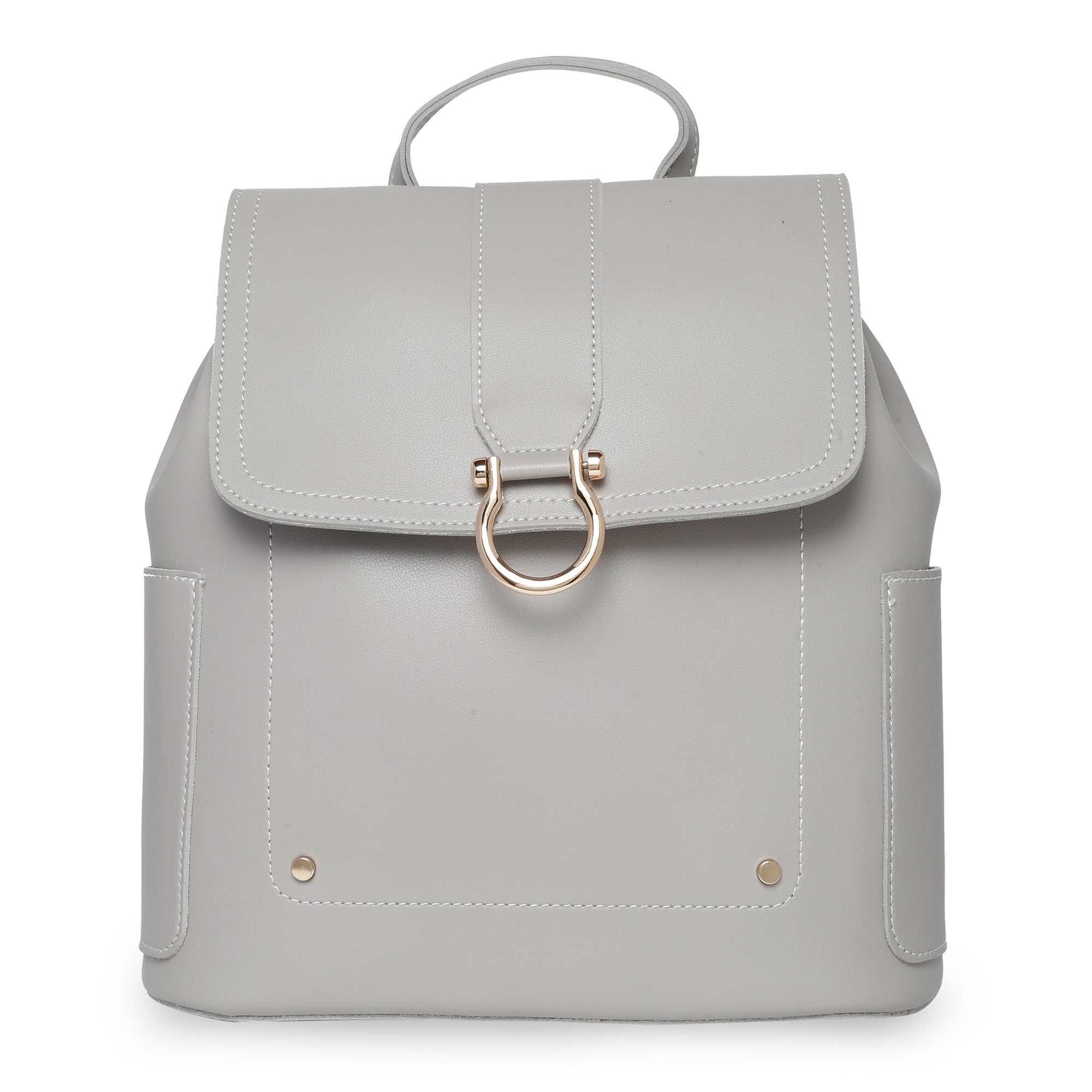 Globus Light Grey Backpack-1